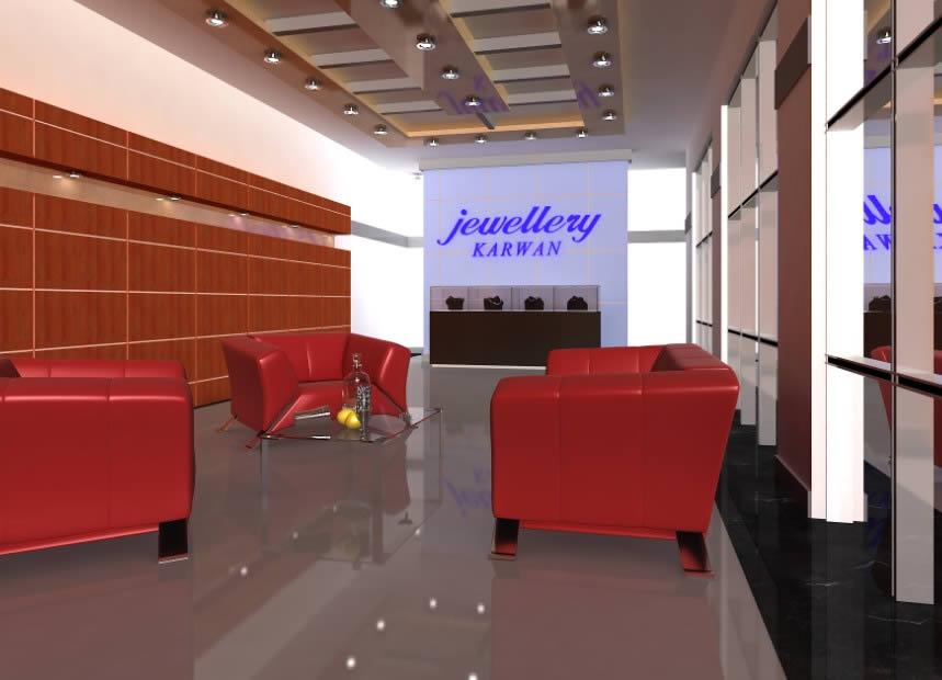 Jewellery Shop Interior Design In Max Cad 56 84 Mb