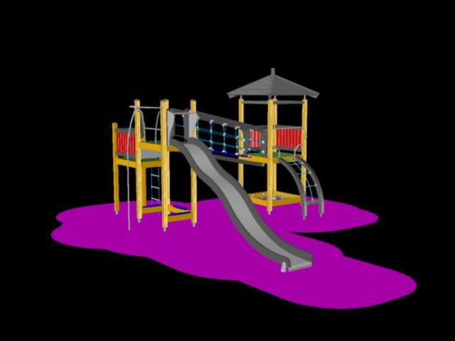 Playground equipment Romania
