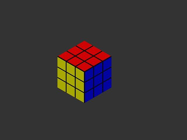 Rubiks cube 3d in AutoCAD   Download CAD free (183 11 KB)   Bibliocad