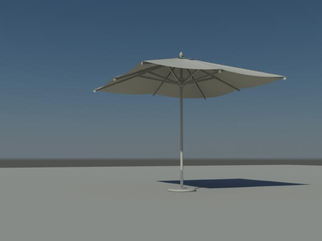 PARASOL WITH FREESTANDING BASE