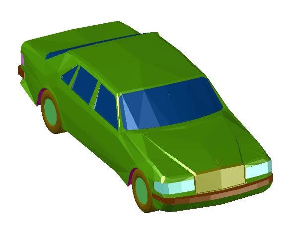 Car 3d In Autocad Download Cad Free 132 42 Kb Bibliocad
