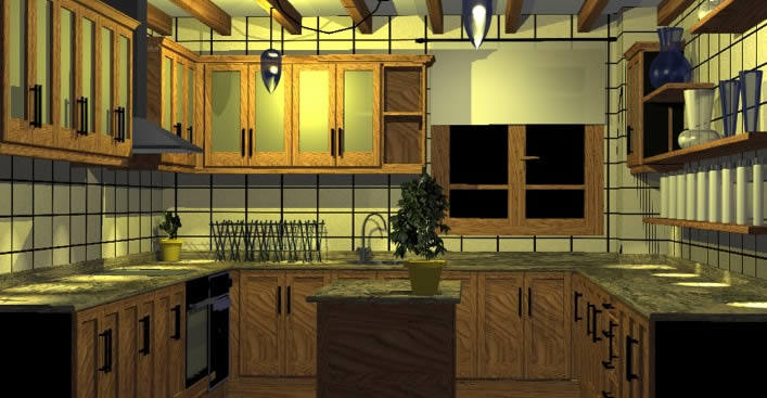 Modular Kitchen In Autocad Cad Download 8 Mb Bibliocad
