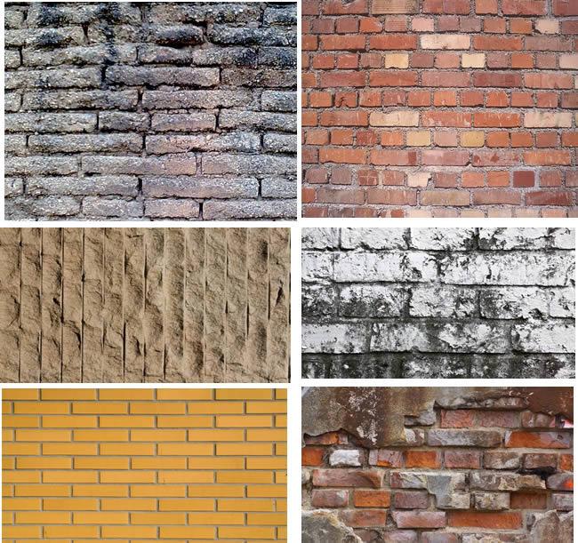 Textura de muros de ladrillo en bmp cad mb - Tipos de muros ...