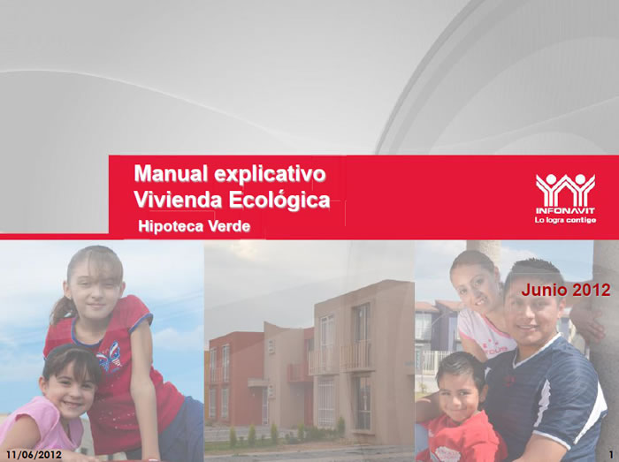 Green Home Mortgage from INFONAVIT, Mexico