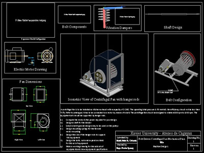 Centrifugal Fan Design In Autocad Cad Download 854