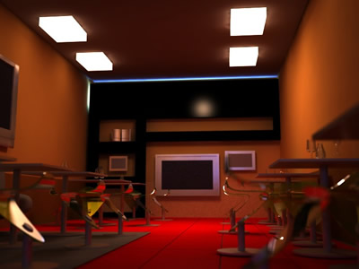 Cafeteria 3d