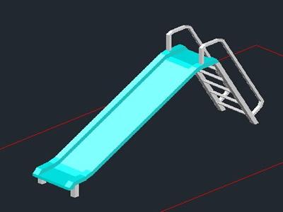 playground equipment--slide