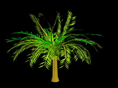 3d palm trees in 3DS | Download CAD free (138 15 KB) | Bibliocad