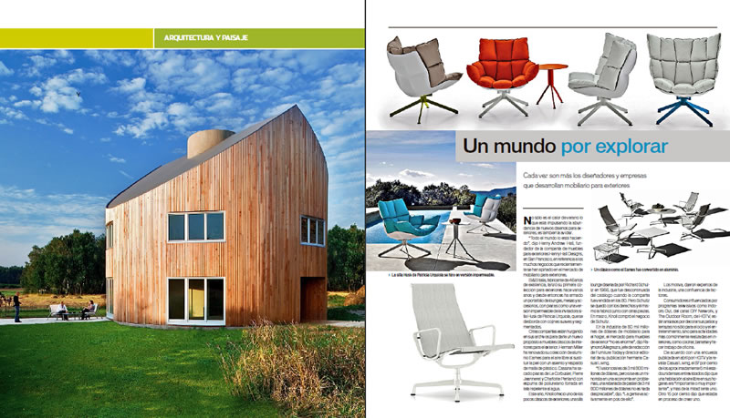 Magazine - Presentation of Architectural Design