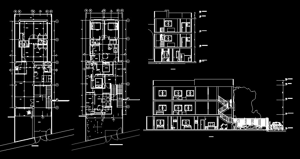 Home and Apartments, 2 storeys