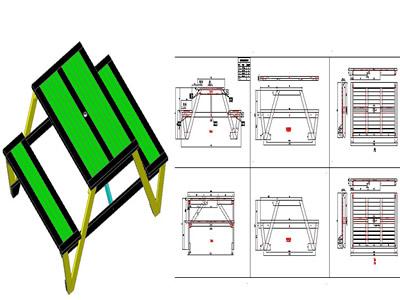 Muebles de jardin en AutoCAD   Descargar CAD (0.48 MB)   Bibliocad