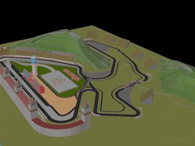 Formula 1 Race Track Circuit Romania Grand Prix Mareilu
