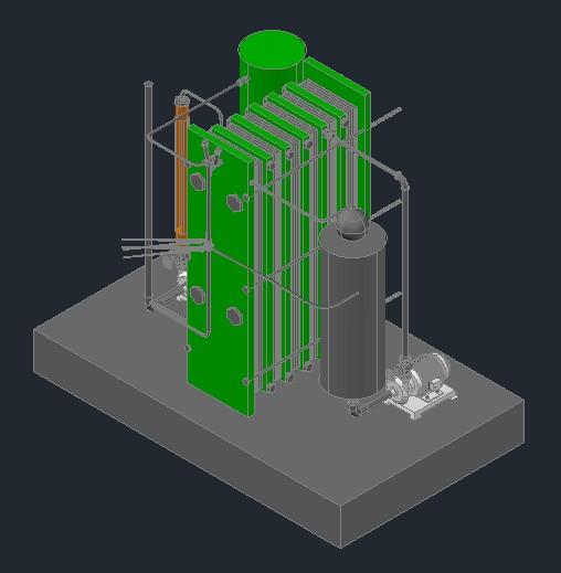 Pasteurizador 3D