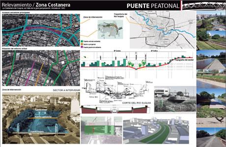 Site Analysis, Riverfront Promenade and Museum, Cordoba, Argentina