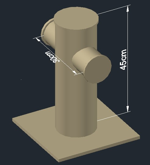 Bollard Mooring In 3d In Autocad Download Cad Free 148
