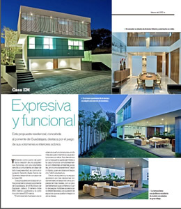 Projects Contemporary homes in Guadalajara 2013