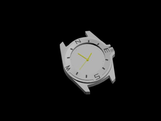 Cad339 66 Reloj En AutocadDescargar KbBibliocad Yb6vgf7y
