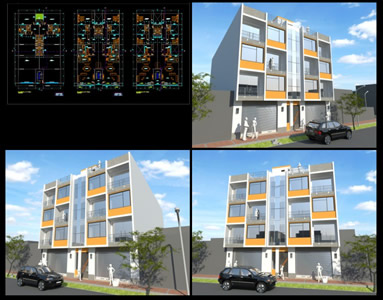 APARTMENTS WITH COMMERCIAL SPACE, 3 FLOORS
