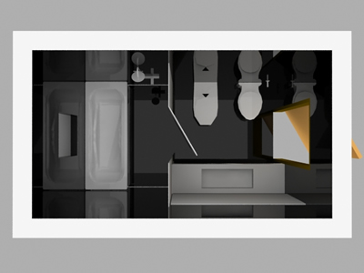 Cuarto de baño 3d en AutoCAD | Descargar CAD gratis (613.75 KB ...