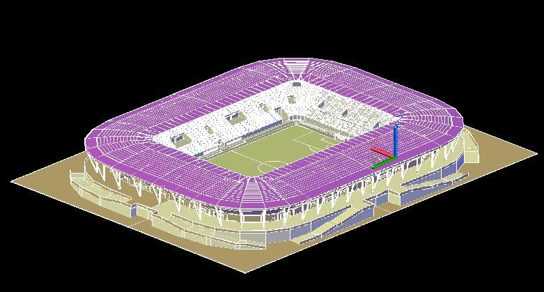 Stadium in Dresden