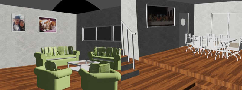 3D Room House