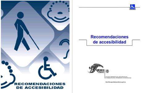 Manual accessibility recommendations NOM