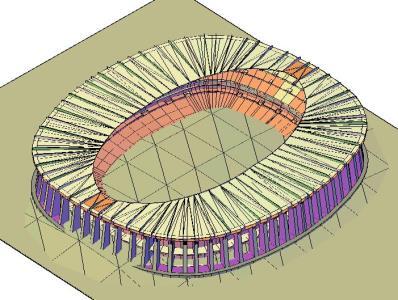 AZTECA STADIUM 3d