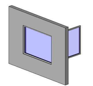 Corner Window Revit 3D