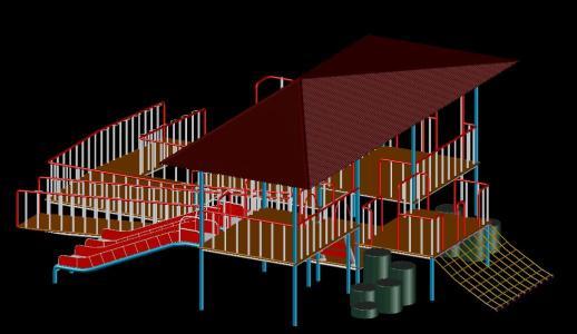 Plataforma de juego 2 - 3D