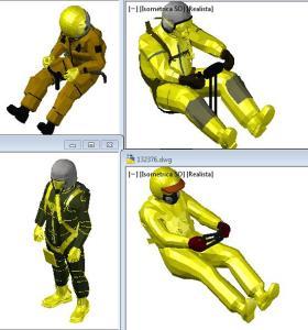 Pilotos de avion 3d