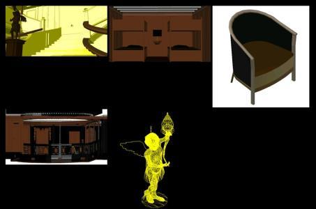 Titanic: 3D FEATURES