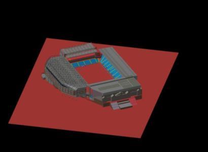 Villa Park Stadium 3D