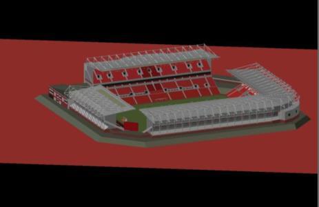 Britannia Stadium 3d