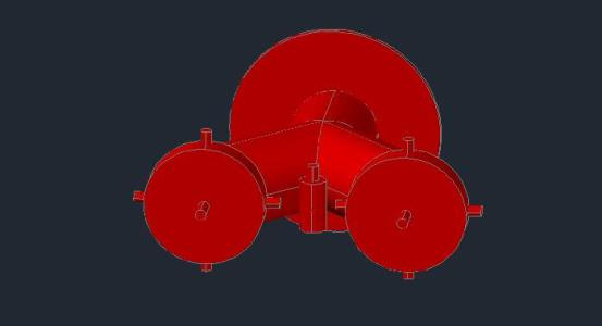 3d siamese valve in AutoCAD | Download CAD free (31 73 KB