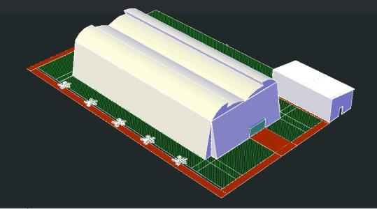 Greenhouse In Autocad Download Cad Free 534 97 Kb