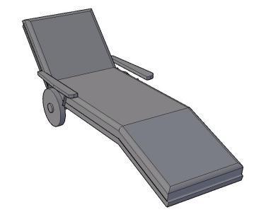 Deckchairs 3D