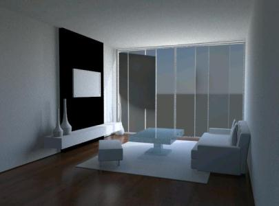 Living room furniture, interior design  3D