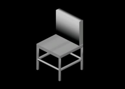 3d chair in AutoCAD | Download CAD free (3 86 KB) | Bibliocad