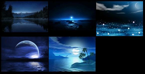 Wallpaper night skies