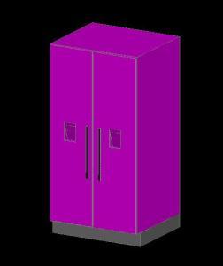 Refrigeradora 3d