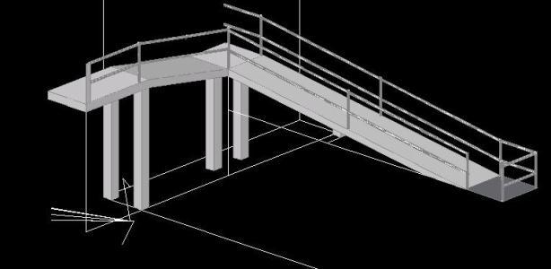 Stairs   Ramp Dwg