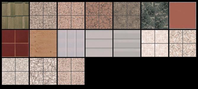 Textures - maps Flats
