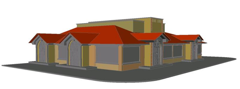 3D Community House Project