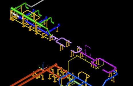 Sitema hidraulico 3D