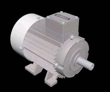 Electric Motor Siemens 3d In Max Cad Download 3 Mb
