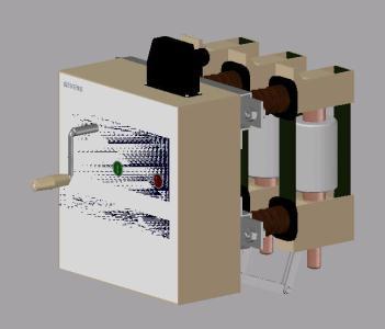 Siemens Vacuum  interruptor circuito 3AH5