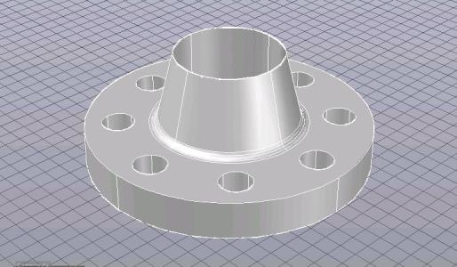 Flange 2 inches 300 lbs