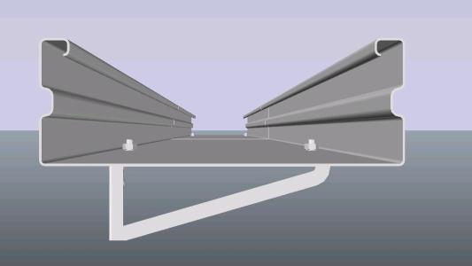 Camino  de cables electricos - 3D