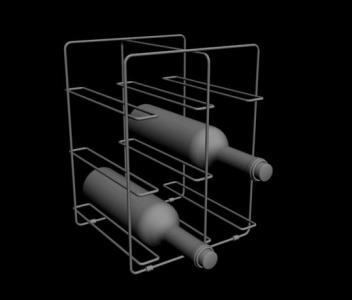 Accesorio para Vinos 3D