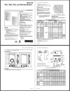 Controlador TR23 Honeywell